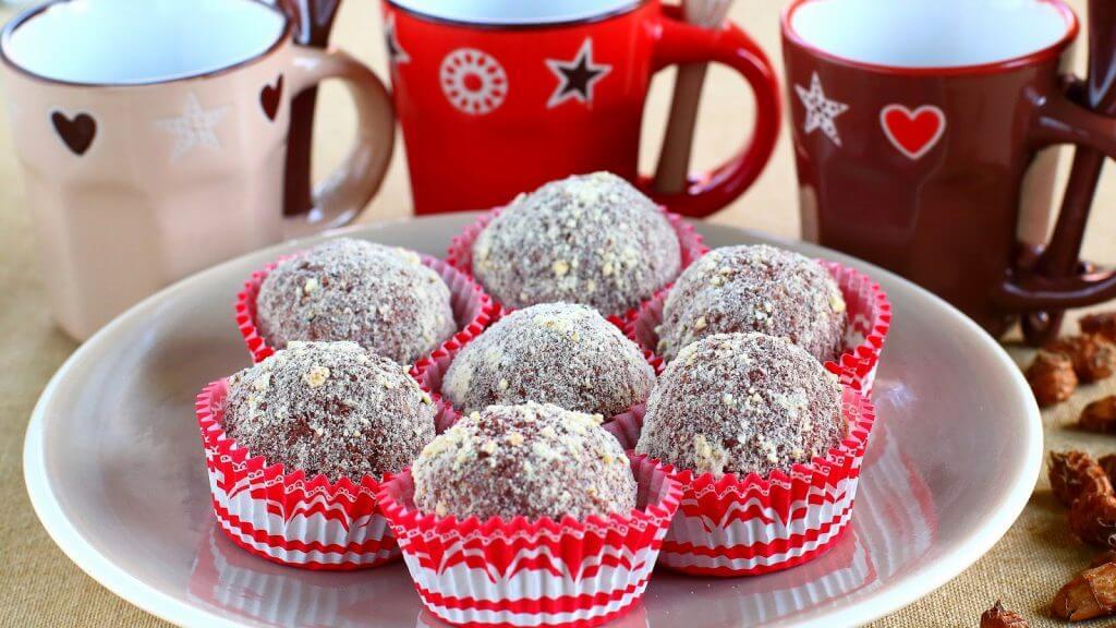 Horchata balls
