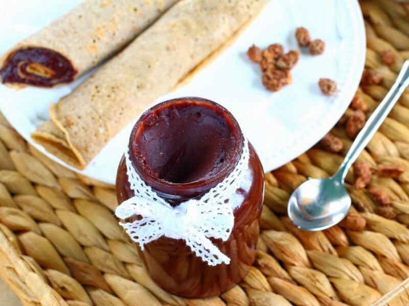 Chocolate Tigernuts cream